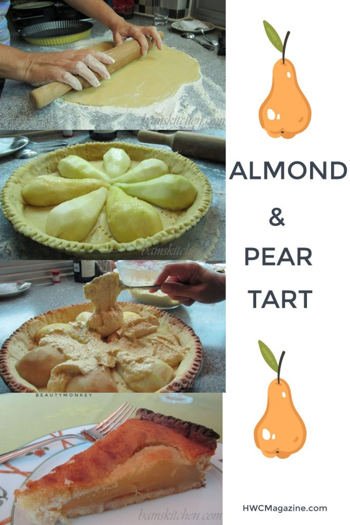 Pear and Almond Tart / https://www.hwcmagazine.com