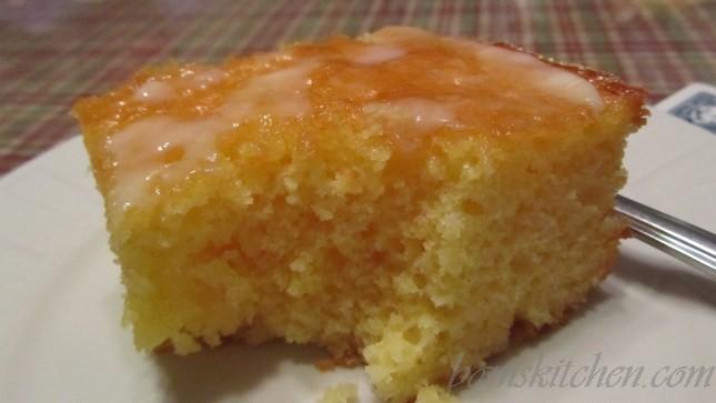 Nostalgic Lemony Lemon Cake