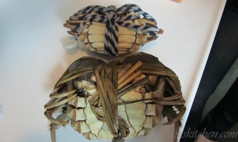 Steamed Shanghai Hairy Crabs