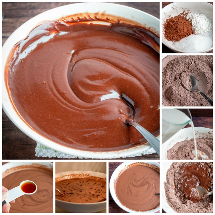 Step by Step how to make chocolate pudding in the microwave.