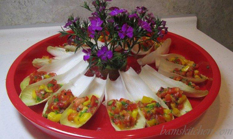 Mango Dancing in Salsa Cups