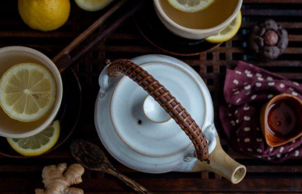 Tranquil Lemon Ginger Tea / https://www.hwcmagazine.com