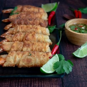 Thai Firecracker Shrimp Party Appetizer / https://www.hwcmagazine.com