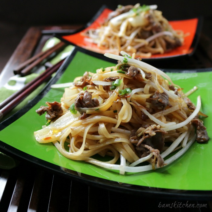 beef noodles with spicy xo sauce - healthy world cuisine