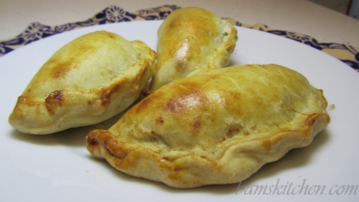 pumkin and fig empanada
