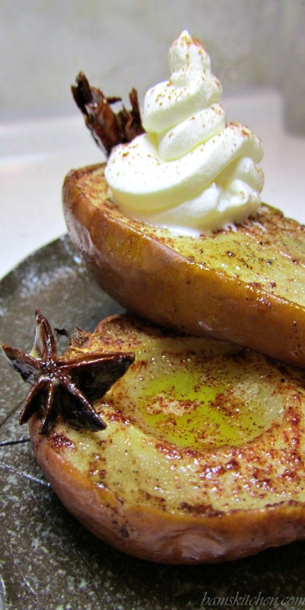 Asian spiced Pears / Bam's Kitchen
