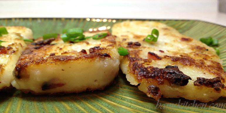 CNY Radish Cake - Healthy World Cuisine