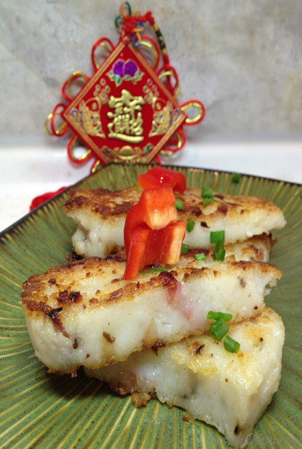 Chinese New Year Radish Cake / https://www.hwcmagazine.com