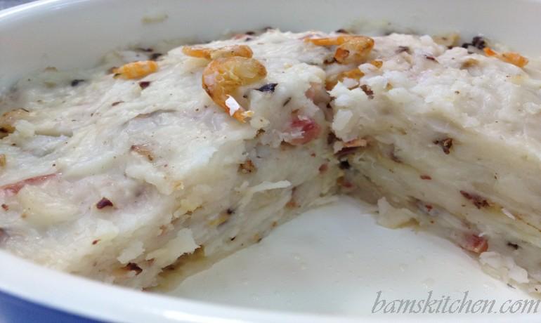 Chinese New Year Radish Cake