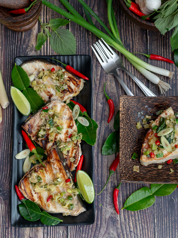 Tropical Thai Swordfish / https://www.hwcmagazine.com