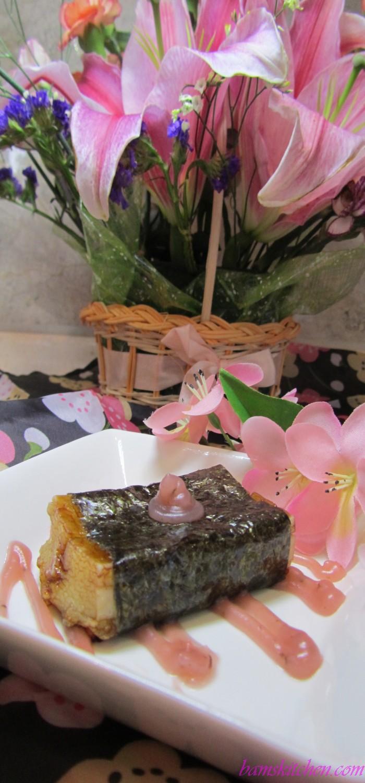 Morimaki Mochi with Sweet Sakura Glaze