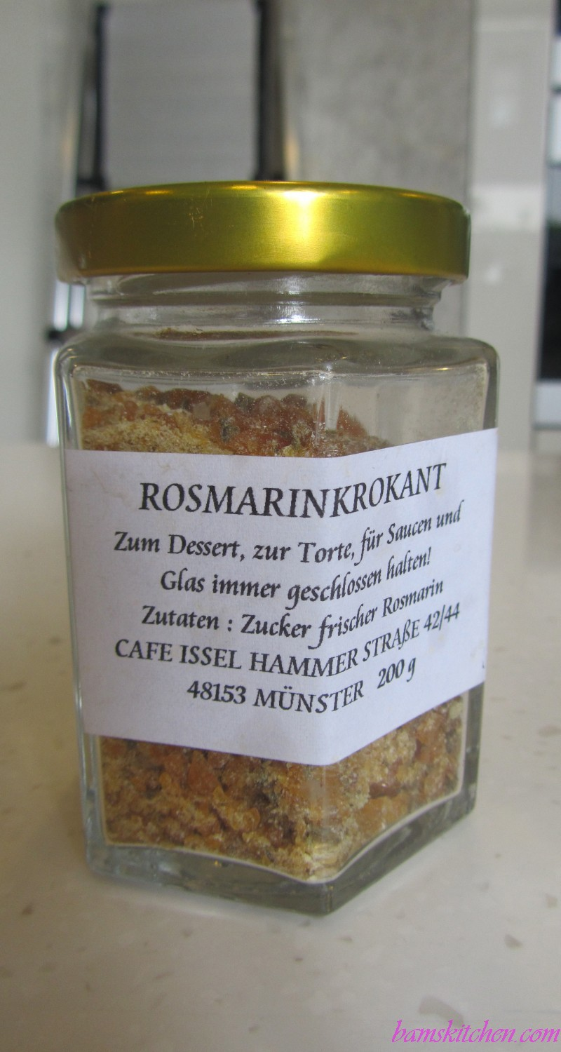 German Rosemary Sugar