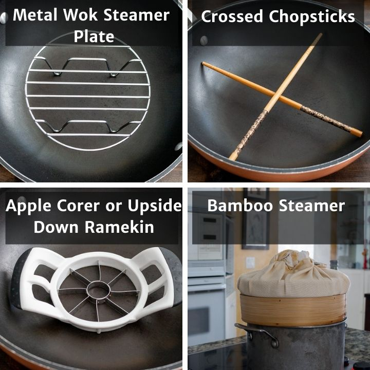4 different options for steaming a fish without a steamer.