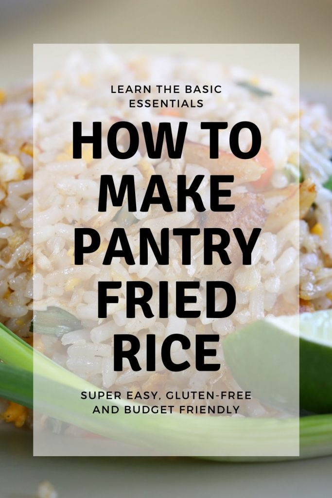 How to Make Pantry Fried Rice / https://www.hwcmagazine.com