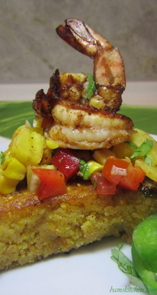 Cajun Shrimp and Jalapeno Cornbread / https://www.hwcmagazine.com