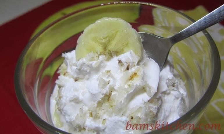 Banana coconut Cream Cups