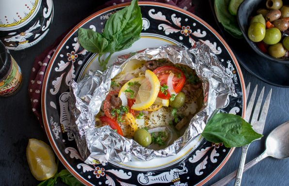 Mediterranean Red Snapper Packets / https://www.hwcmagazine.com