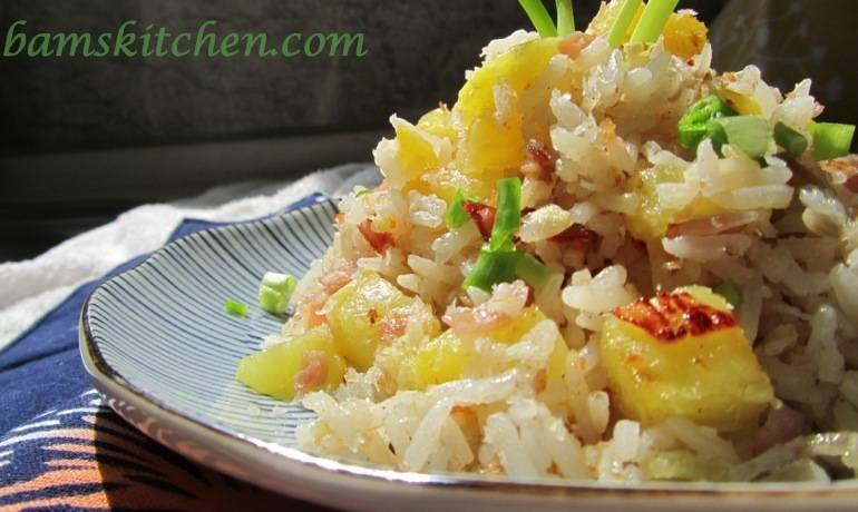 Hawaiian Luau Rice