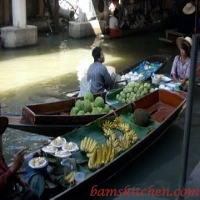 Water Market in Bangkok