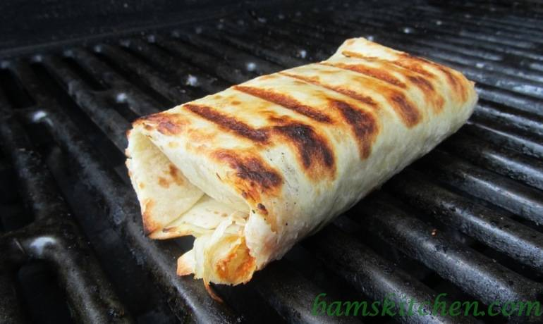 Grilled Harvest Wraps