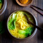 Golden Spiced Noodle Soup / https://www.hwcmagazine.com