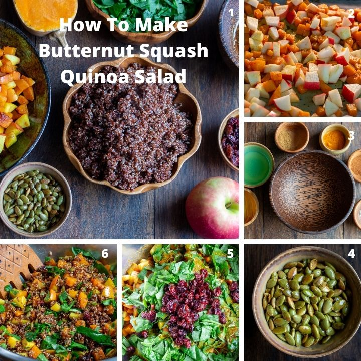 How To Make Butternut Squash Quinoa Salad step by step