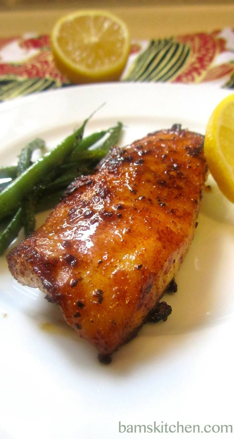 Cajun Blackened Cod