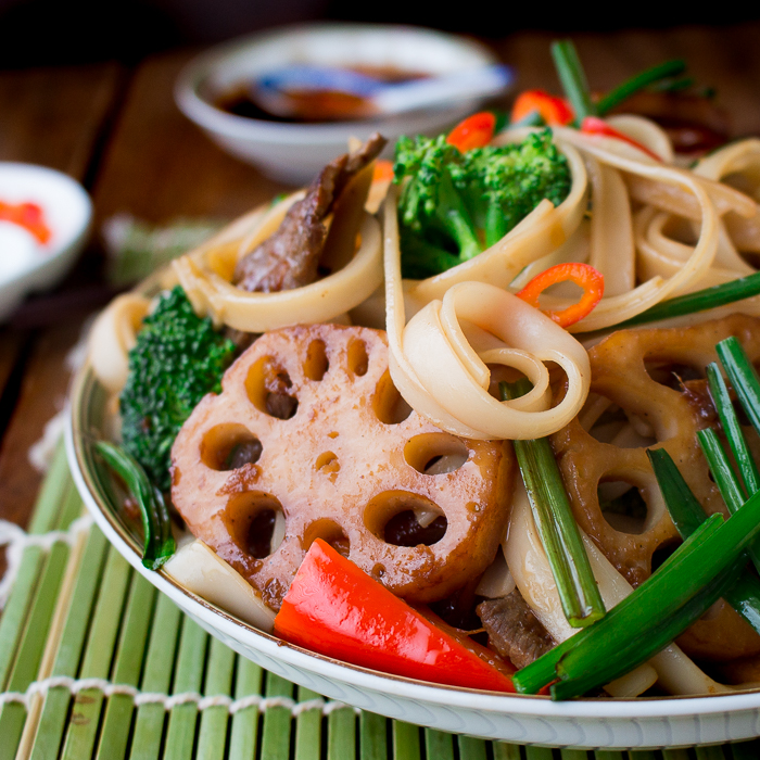 Spicy Beef and Longevity Noodles / https://www.hwcmagazine.com