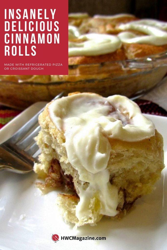 Insanely Delicious Cinnamon Rolls / https://www.hwcmagazine.com