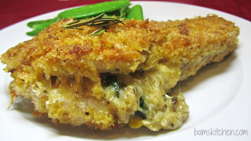 Shake and Bake Cheesy Stuffed Pork chops 1
