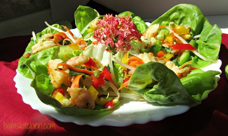 Spicy Shrimp Salad_