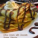 Citrus Crepes with Chocolate Orange Ganache / https://www.hwcmagazine.com