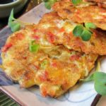 Tofu Veggie Pancakes / https://www.hwcmagazine.com