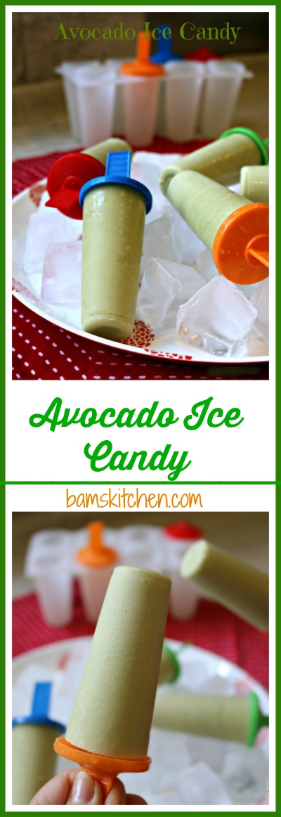 Avocado Ice Candy / http://bamskitchen.com