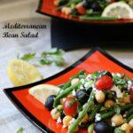 Mediterranean Bean Salad / https://www.hwcmagazine.com