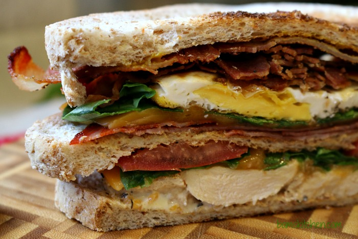 Triple Decker Sammie-Healthy World Cuisine