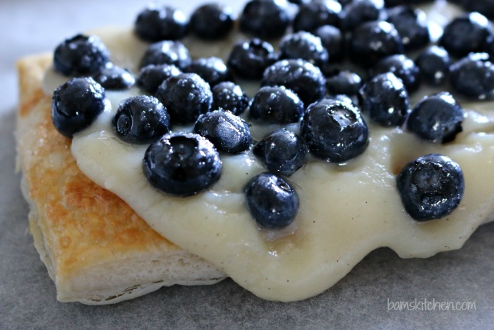 Berry and Peach Pudding Tart - Healthy World Cuisine
