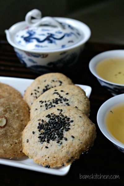 Chewy Black Sesame Cookies_Bam's Kitchen