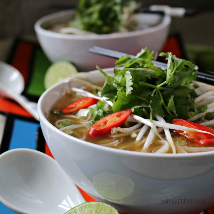 Easy Beef Phở with Oodles of Noodles _Healthy World Cuisine