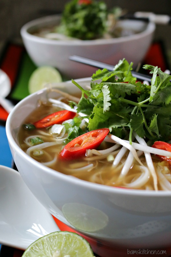 Easy Beef Phở with Oodles of Noodles_Healthy World Cuisine