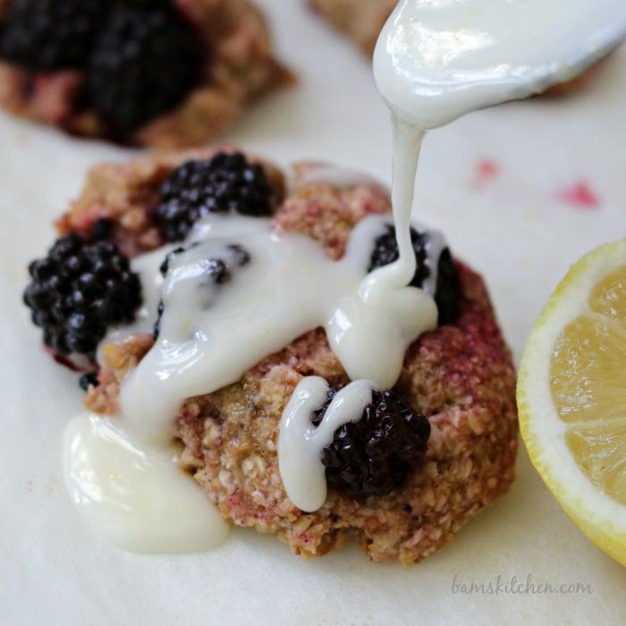 Blackberry Lemon Drop Biscuits-Bams Kitchen