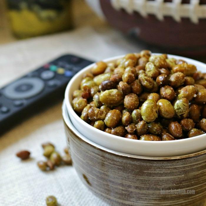 Crunchy Roasted Edamame-Healthy World Cuisine