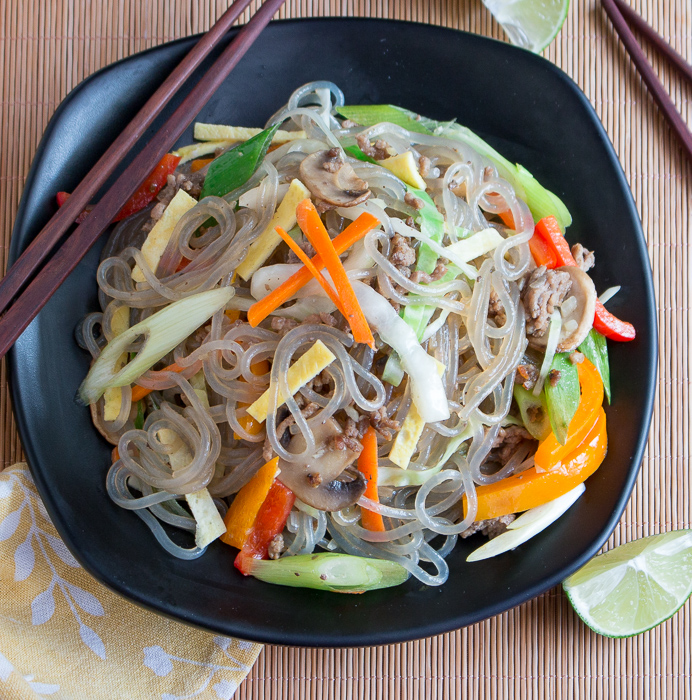 Camote Bihon Sweet Potato Noodles / https://www.hwcmagazine.com