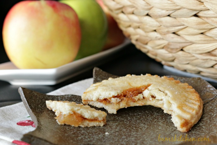 Chewy Caramel Apple Pie Cookie- Bam's Kitchen