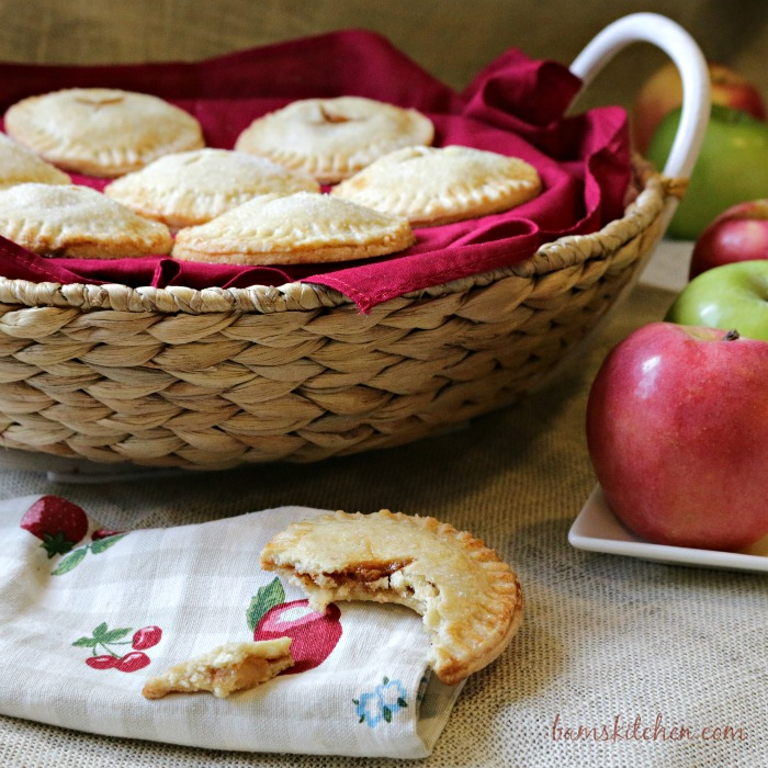 Chewy Caramel Apple Pie Cookies-Bam's Kitchen