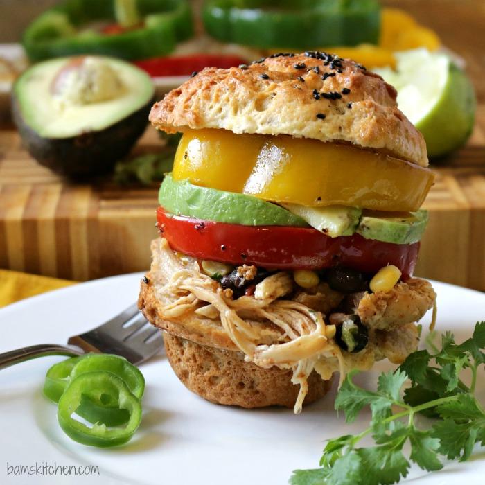 Chicken Fajitas Sliders-Healthy World Cuisine