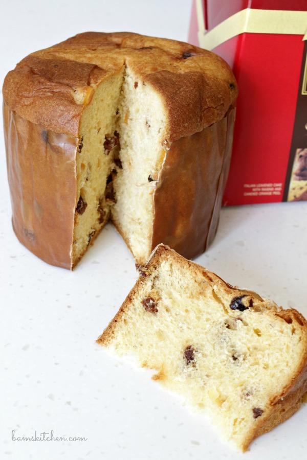 Panettone Italian bread