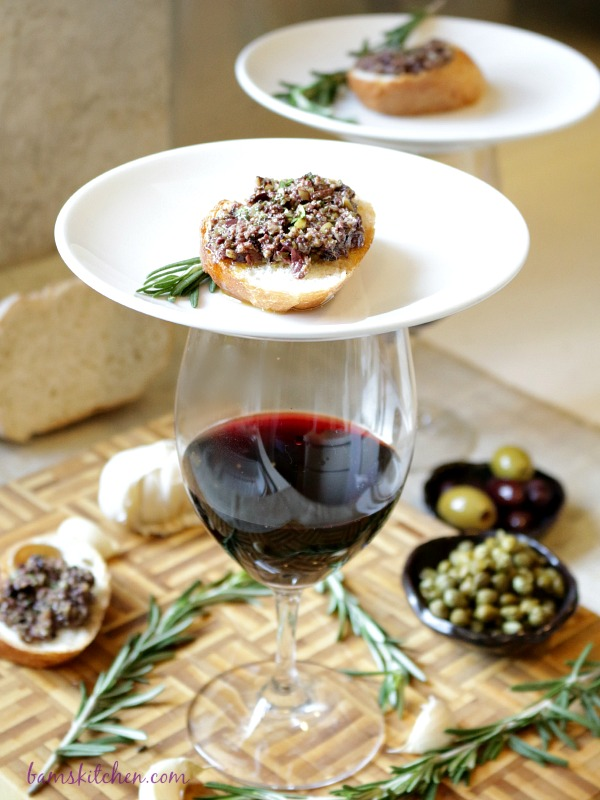 Rosemary Olive Tapenade- Healthy World Cuisine