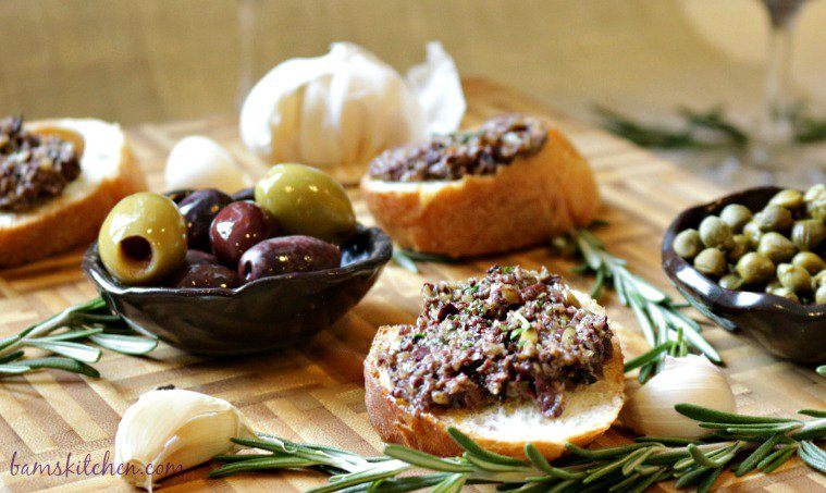 Rosemary Olive Tapenade-Healthy World Cuisine