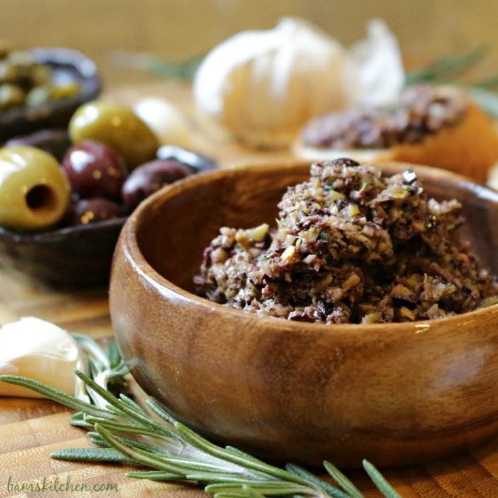 Rosemary Olive Tapenade - Bam's Kitchen.com